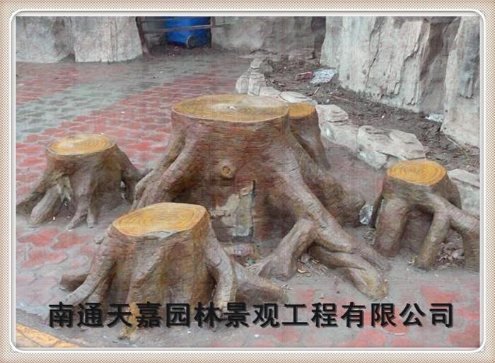 天嘉园林(仿木纹树桩)